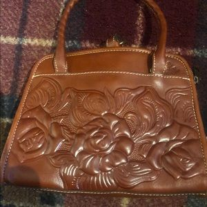 Patricia Nash leather tooled